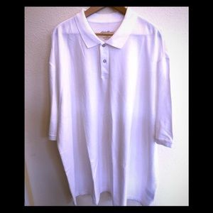 Eddie Bauer white polo - never worn